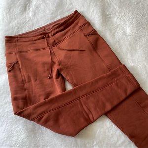 Old Navy fleece lined high waist leggings XL (ш2)